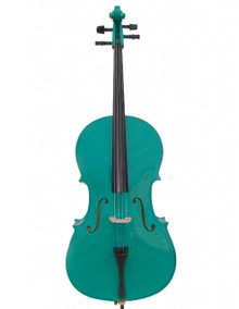 Handcrafted Blue Green Cello MC100-BG