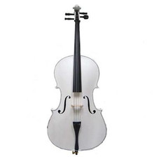 Handcrafted White Cello MC100-WH