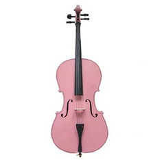 Handcrafted Pink Cello MC100-PK