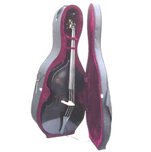 Black Upright String Double Bass with Hard Case BA150-BK
