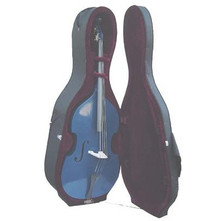 Blue Upright String Double Bass with Hard Case BA150-BU