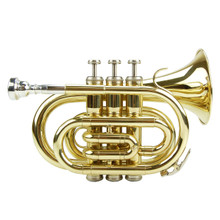 Gold Lacquer Pocket Trumpet PT100-GL