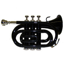 Black Lacquer Pocket Trumpet PT100-BK