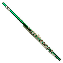 Green Lacquer Plated Flute FL100-GR