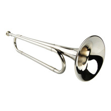 Nickel Plated Silver Bugle