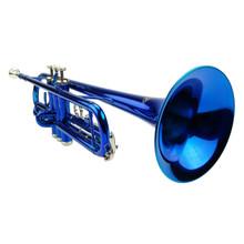 Blue Lacquer Trumpet