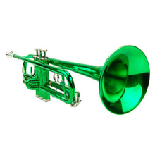 Green Lacquer Trumpet