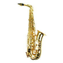 Gold Lacquer Alto Saxophone