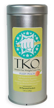 "T.K.O. Tea ""Knock Out Weight Loss Tea"" is a perfect addition to any weight loss plan or diet. It contains 7, 100% All Natural Ingredients that work together to speed metabolism, decrease appetite, and eliminate excess water retention. Best tasting weight loss tea on the market. Order today!"