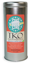 "T.K.O. Tea ""Knock Out Weight Loss Tea"" is a perfect addition to any weight loss plan or diet. It contains 8, 100% All Natural Ingredients that work together to speed metabolism, decrease appetite, and eliminate excess water retention. Best tasting weight loss tea on the market."