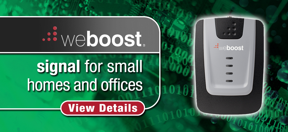 Boost reception in small homes