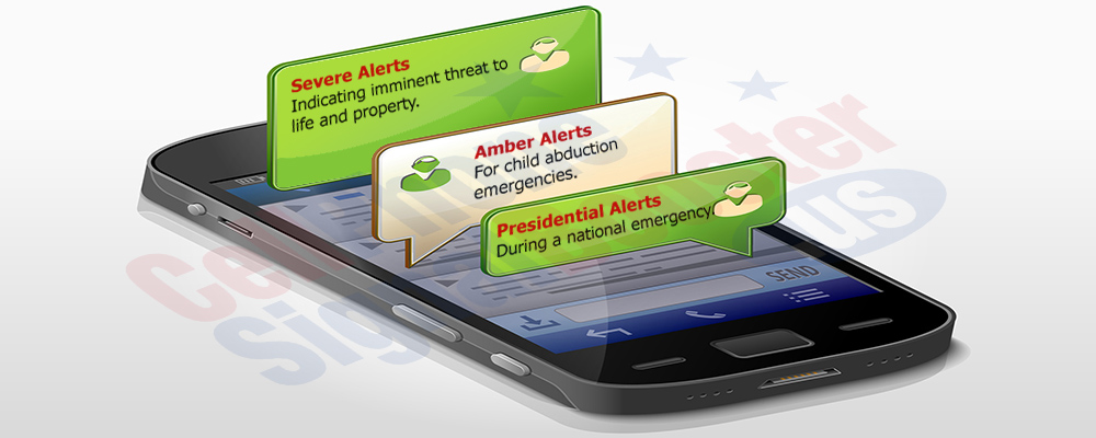 Booster to ensure wireless emergency alerts are received
