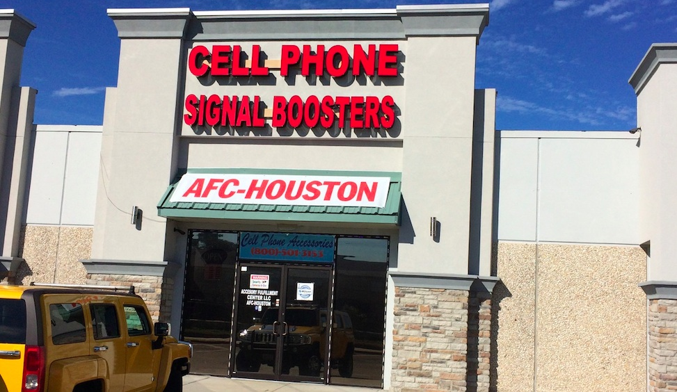 Cell Phone Signal Booster Retail Store
