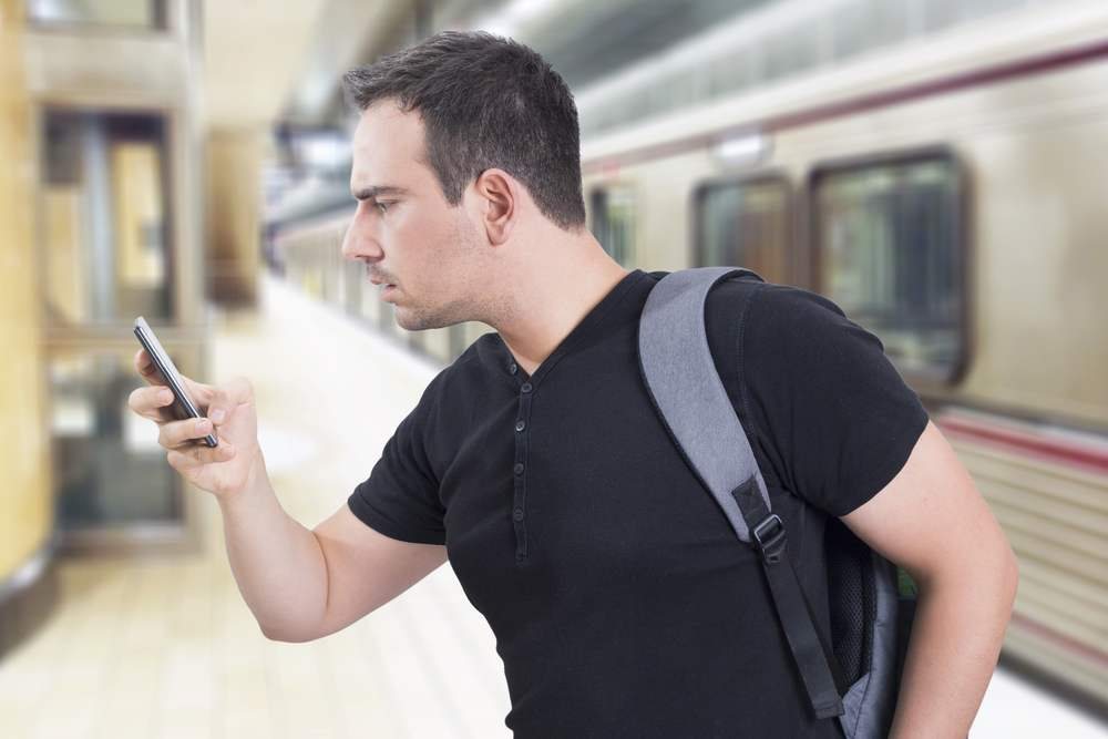 Signal booster kit in subways for better reception