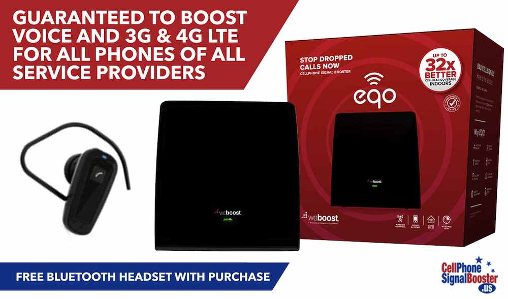 weBoost EQO Signal Booster Kit for Homes and Offices