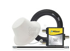 Single Wilson Dome Antenna Expansion Kit 50 Ohm (weBoost/ WilsonPro 304412-50N1) with BLACK cables - This Purchase.