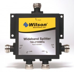 Wilson 859981 4 Way Wide Band Splitter by Wilson Electronics.