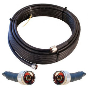 Wilson 952350 WILSON400 50 feet cable with N-Male Connectors. Black. weBoost 952350.