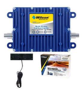 Complete Wilson dual-band wireless amplifier kit for use in cars, pickups or semis only! For 800MHz/1900MHz