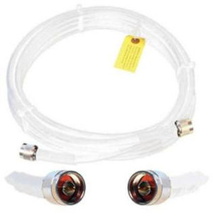Wilson 952450 WILSON400 50 feet white cable with N-Male Connectors. weBoost 952450.