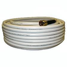 Wilson 952475 WILSON400 75 feet white cable with N-Male Connectors. weBoost 952475.