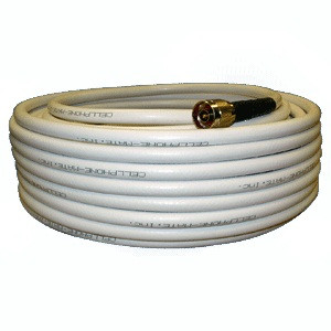 Wilson 952400 WILSON400 100 feet white cable with N-Male Connectors. weBoost 952400.