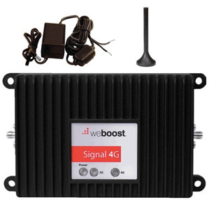 Complete Signal 4G Booster for M2M (weBoost 470219) with mini magnet mount antenna and hardwire kit.
