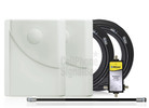 Dual Wilson Panel Antenna Expansion Kit 50 Ohm (weBoost/ WilsonPro 309907-50N) with BLACK cables - This purchase.