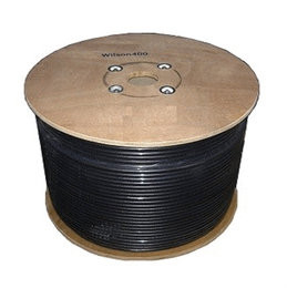 "500 ft. RG11 75Ω Coaxial Cable: 3/8"" low loss coax cable Wilson weBoost 951155"