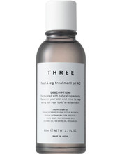 THREE Foot & Leg Treatment Oil AC 80ml