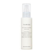 THREE Hair Care & Styling Emulsion 100ml ~ Medium Moist