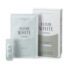 SHISEIDO Elixir White Whitening Clear Effect Mask 6 Sets