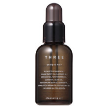 THREE Scalp & Hair Cleansing Oil