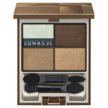 Lunasol by KANEBO Dry Summer Eyes ~ EX02 Chic Beige Nuance ~ 2018 Summer Limited Edition