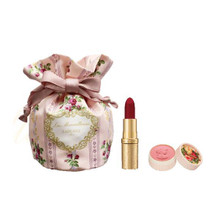 Promo! Les Merveilleuses LADUREE Stick Rouge & Mini Pressed Cheek Color Set ~ 2018 Holiday Limited Edition