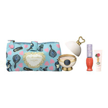Promo! Les Merveilleuses LADUREE Face Powder N + Makeup Pouch Set ~ 2018 Holiday Limited Edition