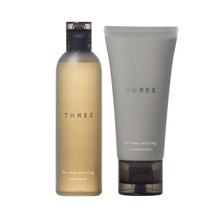 THREE For Men Gentling Shampoo & Conditioner Mini Set