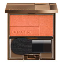 LUNASOL Coloring Sheer Cheeks (Glow) (Full Set) ~ EX03 Urban Coral ~ 2019 Summer Limited Edition
