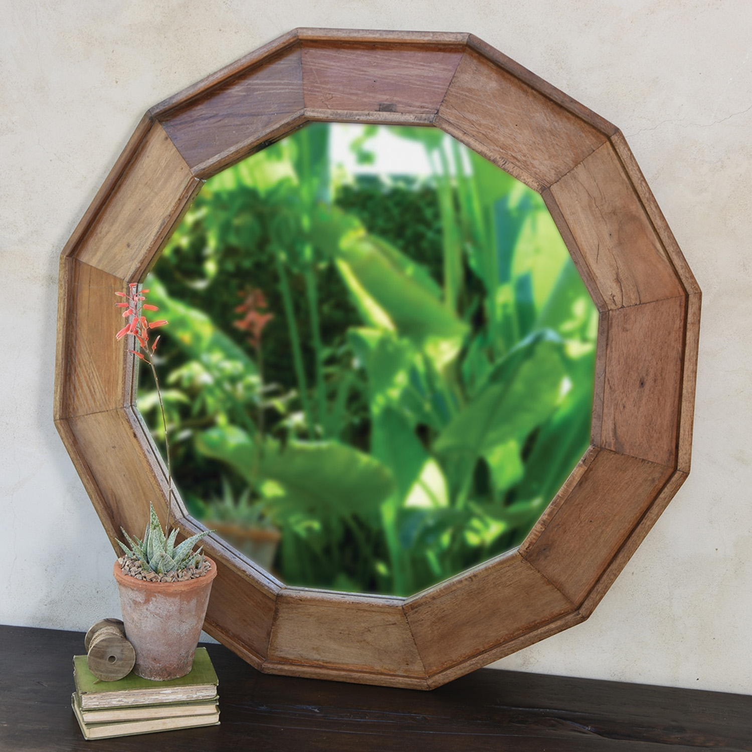 Euclid Wood Mirror