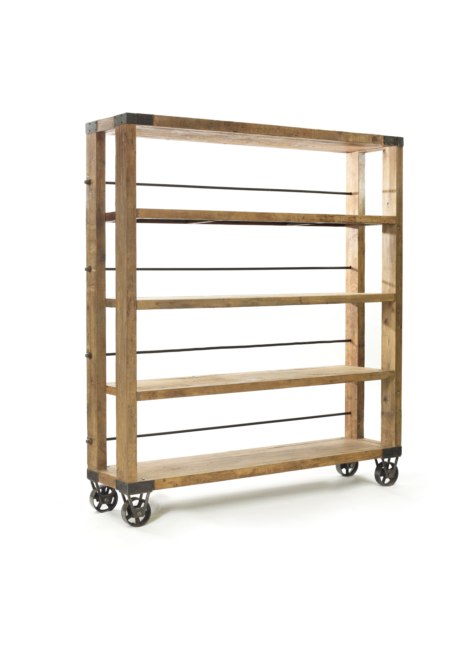 Rolling Bookcase