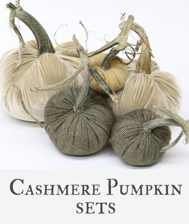 Hot Skwash Cashmere Pumpkin Sets
