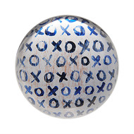 "Set of 2 ""XOXO"" Paperweights"