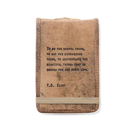 Leather Journal - T.S. Eliot