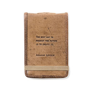 Leather Journal - Abraham Lincoln
