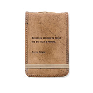 Leather Journal - Bowie