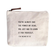 "The Wizard of Oz - ""You've always had the power"" - Canvas Bag"