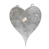 Large Zinc Hearts with Magnets