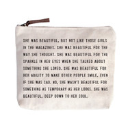 She was Beautiful - Canvas Bag