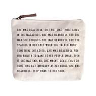 She was Beautiful - Canvas Bag