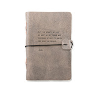 Leather Journal - Rumi Quote